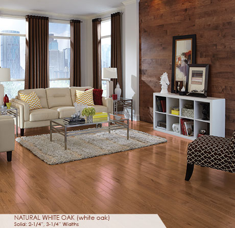 White Oak Natural Solid Prefinished