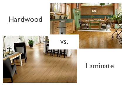 Wood floors vs laminate flooring what 39 s the diffference - Laminate versus hardwood flooring ...