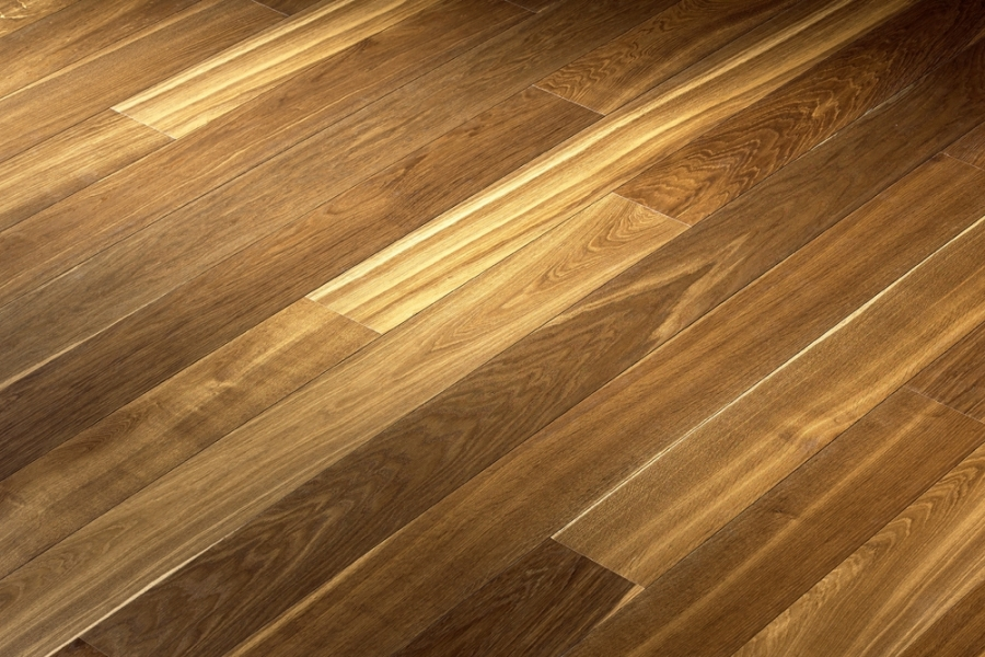Wide Plank Oak Flooring Hakwood Genuine Finish